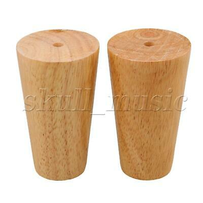 4Pieces 100x58x38mm Wooden Taper Furniture Legs for Sofa & Tea Table