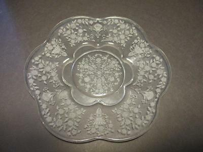"Duncan & Miller First Love Pattern 8 1/2"" Lunch Plate(s)"