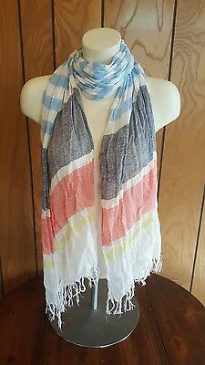 Lot of 5 Fashion Scarves