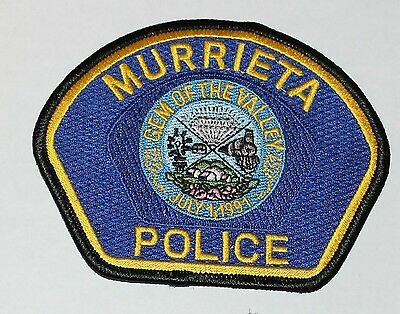 MURRIETA POLICE Riverside County Gem of the California CA PD patch