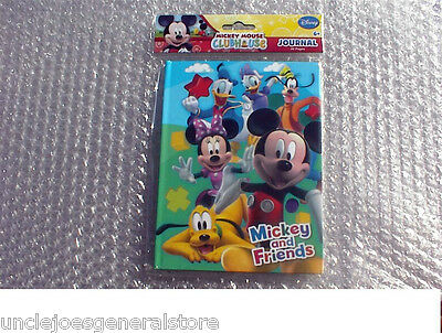 MICKEY MOUSE & FRIENDS Journal Diary Book ~ 40 pages, Ages 6+