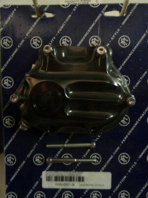 PM Clutch Cover '87-06 5 Speed Fluted (exc FXD'06) Black
