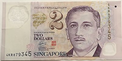 Singapore Currency  2, 10