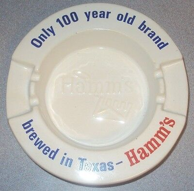 vintage texas brewery hamms beer ashtray