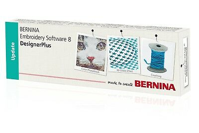 BERNINA Embroidery Software Upgrade to Designer Plus V8