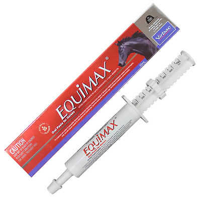 Virbac Equimax Wormer Oral Paste for Horses Health Abamectin Praziquantel Horse