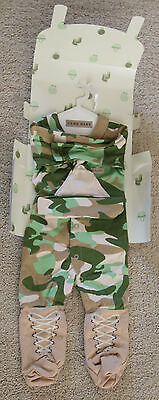 Big Dreamzzz Baby Camo 2-Piece Layette Set in Backpack Gift Box 0-6 Months