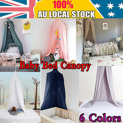 Lovely Canopy Bed Netting Mosquito Bedding Net Dome Baby Kid Reading Play Tent S