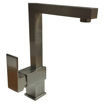Kimberly Brushed Single Lever Swivel Spout Kitchen Sink Mixer Tap C9034BS