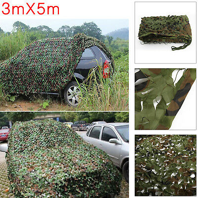 Jungle Filet de Camouflage net 3mx5m Chasse Camping militaire Forêt hide