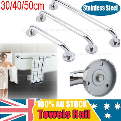 300-500MM Stainless Steel Bathroom Shower Wall Towel Rail Bar Safety Grip Handle