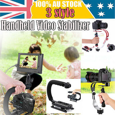 3 Style Handheld Video Steadycam Stabilizer for DSLR SLR DV GoPro Camera iPhone