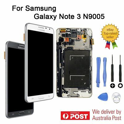 For Samsung Galaxy Note 3 N9005 LCD Display Touch Screen Replacement AU