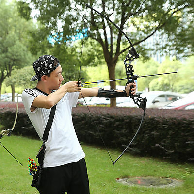 40Lbs Archery Hunting Takedown Straight Bow Right Hand Longbow Camouflage US