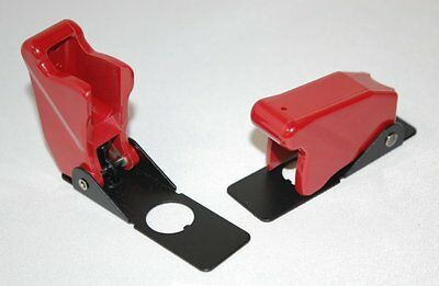 Military Spec Toggle Switch Guard Flip Safety Cover Cutler-Hammer 8498K6  Red