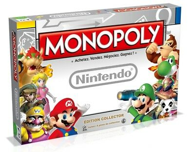 Monopoly édition collector Nintendo - Hasbro