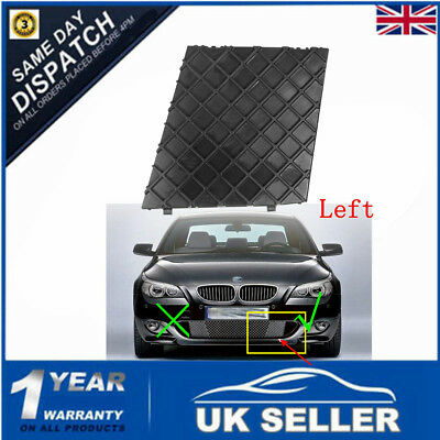 Front Bumper Cover Lower Mesh Grille Trim Left For BMW E60 M Sport 51117897186