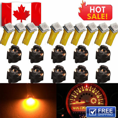 10 X Canbus Error Free White 5630 T10 Wedge LED Light bulbs W5W 194 168 6-SMD