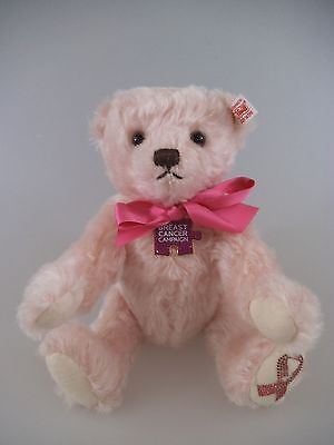 Steiff Teddy Breast Cancer 27cm rose limitierte Auflage von 2013 (848)