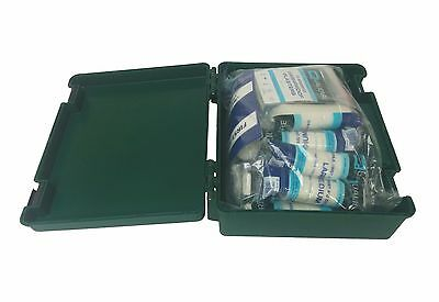 1-10 Person Workplace HSE Compliant Premium First Aid Kit - Emergency, Home, Car