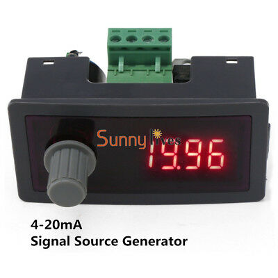 Digital Signal Source Signal Generator Constant Current 0.01mA DC 12V/24V 4-20mA