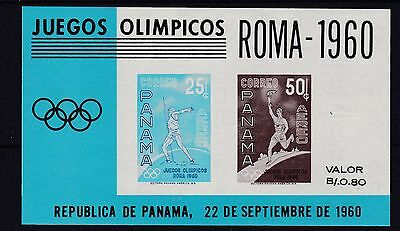 Panama  1960 Olympic Games  Rome Sheet Mint