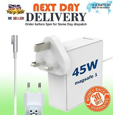 For Mac 45W MagSafe1 AC Power Supply Charger MacBook Air 11 & 13 A1244