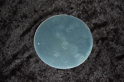 "Aluminum Disc 3.2"" Diameter 3/16"" thick  (2 pieces)  FREE SHIPPING"