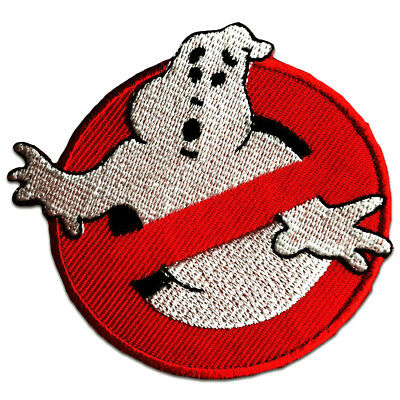 Toppe termoadesive - Ghostbuster Comic bambini Film - rosso - Ø7,5cm - Patch Top