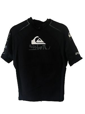 1mm Short sleeves Quiksilver #0223 Adult S // Black Blue White Syncro