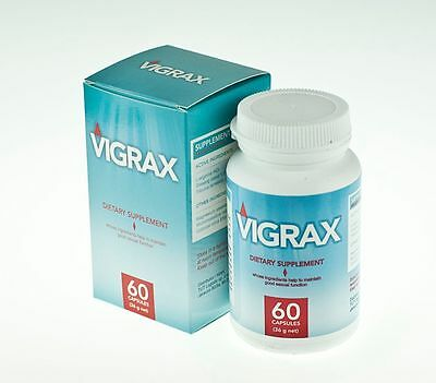 Vigrax - 60 caps - Pillole Male Enhancement erezione Potenza Sex Stamina