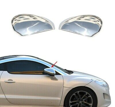 To Fit Citroen C-5 2008Up Chrome Mirror Cover 2Pcs S.Steel