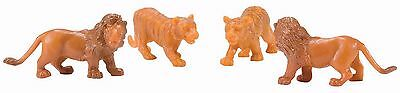 Lionel CIRCUS ANIMALS: 2 LIONS & 2 TIGERS, 6-21610