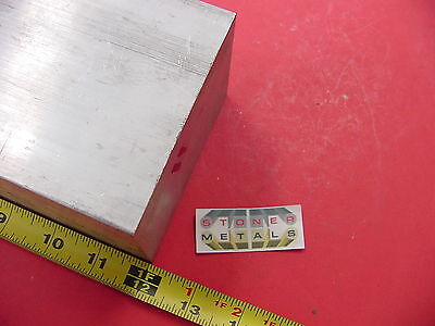 "2-1/2""x 4""x 12"" ALUMINUM 6061 SOLID FLAT BAR 2.50""x 4.00"" T6511 Plate Mill Stock"