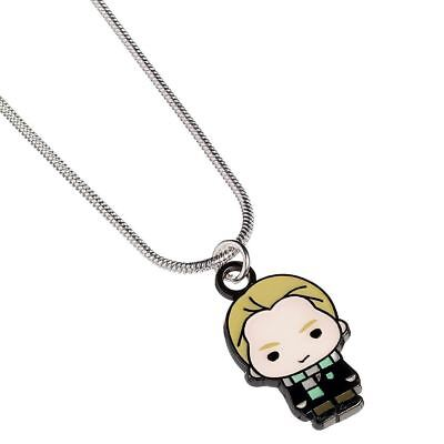HARRY POTTER Collana Placcata Argento DRACO MALFOY 100/% Original The Carat Shop