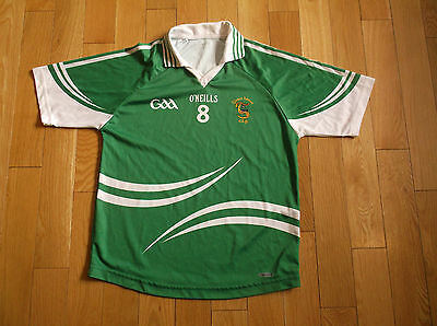 Gleann Lubhair C.l.g O'neills Gaa Jersey,size S,color Green/white