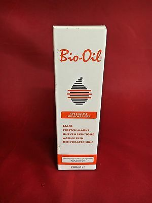 200 ML Bio-Oil Genuine Specialist Skincare Oil For Scars Marks & Dehydrated Skin