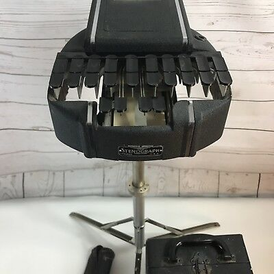The Stenotype Company Stenograph Vintage Court Reporting Machine