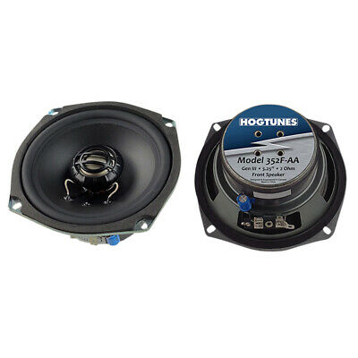Hogtunes 352F-AA Front Speakers 2006-2013 Harley Ultra Electra Road Street Glide