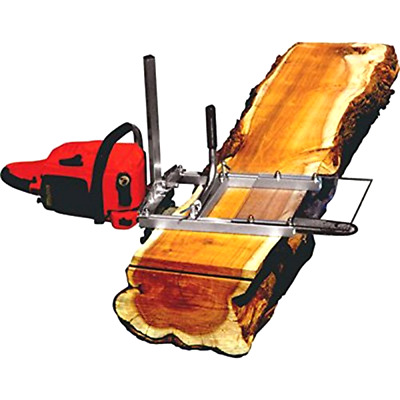 ChainSaw Mill ModelG777 Granberg Lightweight Cuts Beams Lumber .5 To 13 in Thick