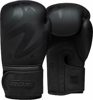 RDX Boxing Gloves Leather Training 16oz Fitness Sparring Muay Fight Kickboxing