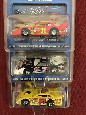 Lot (3) 1:64 Action Dirt Super Late Model Diecast Cars #2