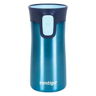 Contigo Pinnacle Travel Mug Flask 300ml Autoseal Spill Free Stainless Steel