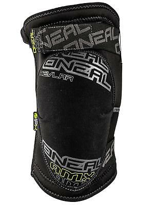 ONeal Black 2018 AMX Zipper III Pair of MX Knee Pads