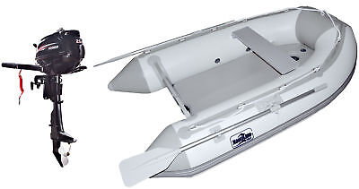 Nautiline inflatable boat AIR MAT 270 with Hidea outboard engine - 4 strokes 2,5