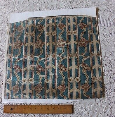 Rare French 18thC Domino Paper With Original Manufacturer's Name Chez Benoist