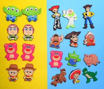 Toy Story Characters  Shoe Charms Kids Sets for fits Jibbitz Clogs Crocs