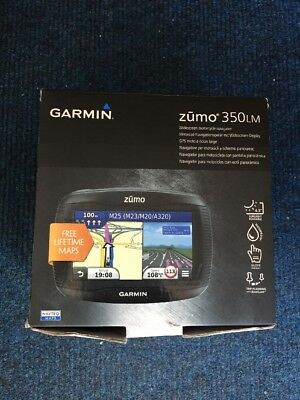 Garmin zūmo 350LM Motorcycle GPS Receiver Boxed With Accessories