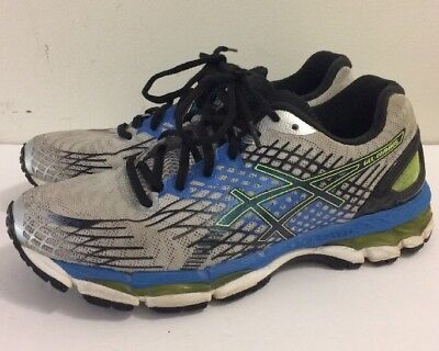 14 Mens Green Blue 49 Gel Shoe Eur Running T507n Nimbus 17 Asics Pw0Tq5w