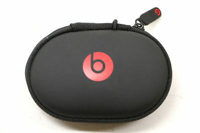 Genuine Beats by Dr. Dre Powerbeats 2 Earbud Headphone Carrying Case - Black/Red